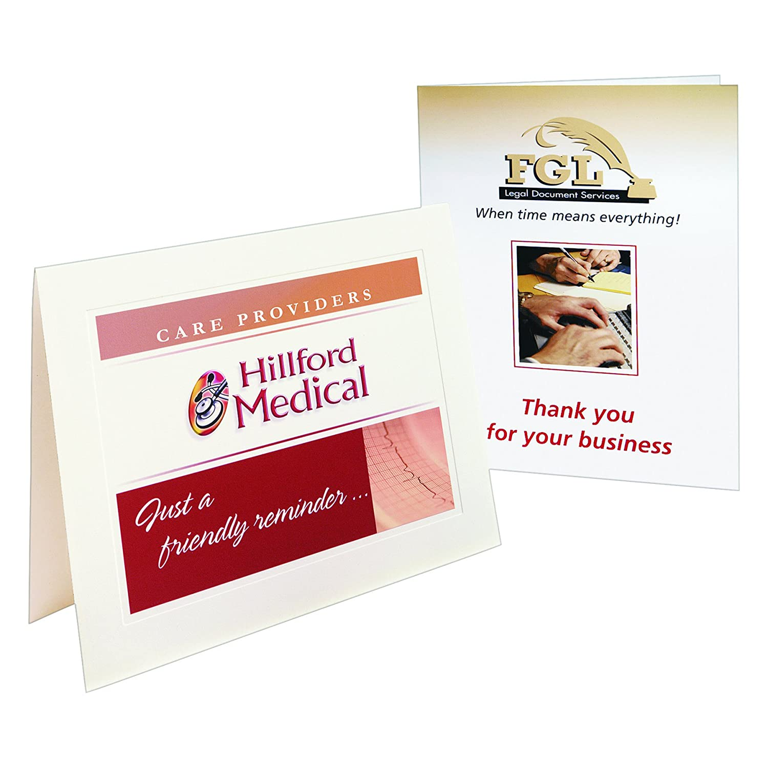 avery note cards 4 25 x 5 5 inches matte white