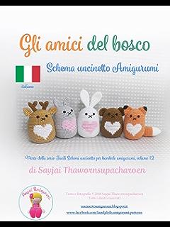 Animaletti Paffuti Amigurumi Schema Per Uncinetto Ebook Sayjai