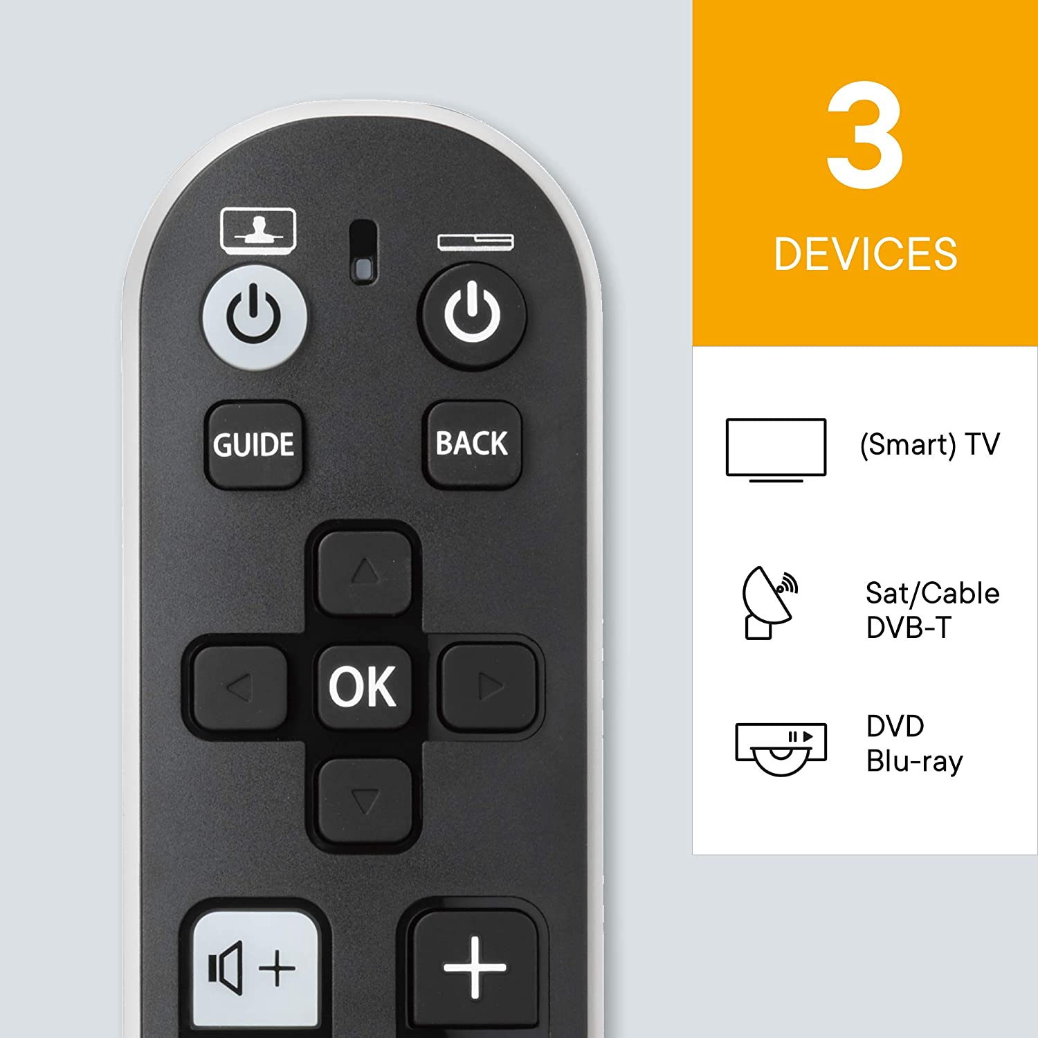 One For All Zapper Basic Universal Remote URC 6810, URC6810 (Universal Remote URC 6810)