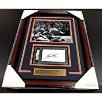 Walter Payton Signed Photograph - Certified Index Card 8x10 - PSA/DNA Certified - NFL Cut Signatures photo