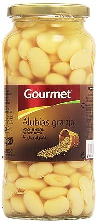 Gourmet - Alubias granja - Primera - 400 g - , Pack de 6: Amazon ...