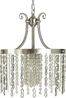 product image for Framburg 2954 BN 1-Light Penelope Dining Chandelier, Brushed Nickel