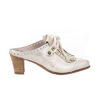 Chaussures blanc crème femme Chaussures pour femmes Gommage rétro lacets Oxfords Bas talon Taille 35To42 W9efmc22C