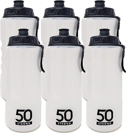 Easy Squeeze 1 Liter Sports Water Bottle W//Straw Built in Finger Grip /&