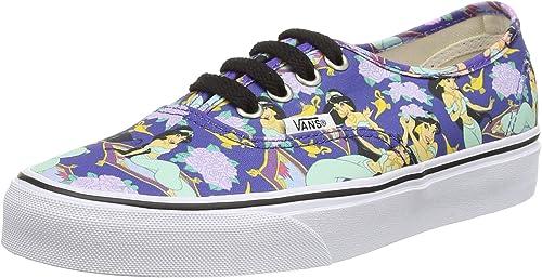 Amazon.com | Vans Authentic, Unisex Adults' Low-Top Sneaker, Blue ...