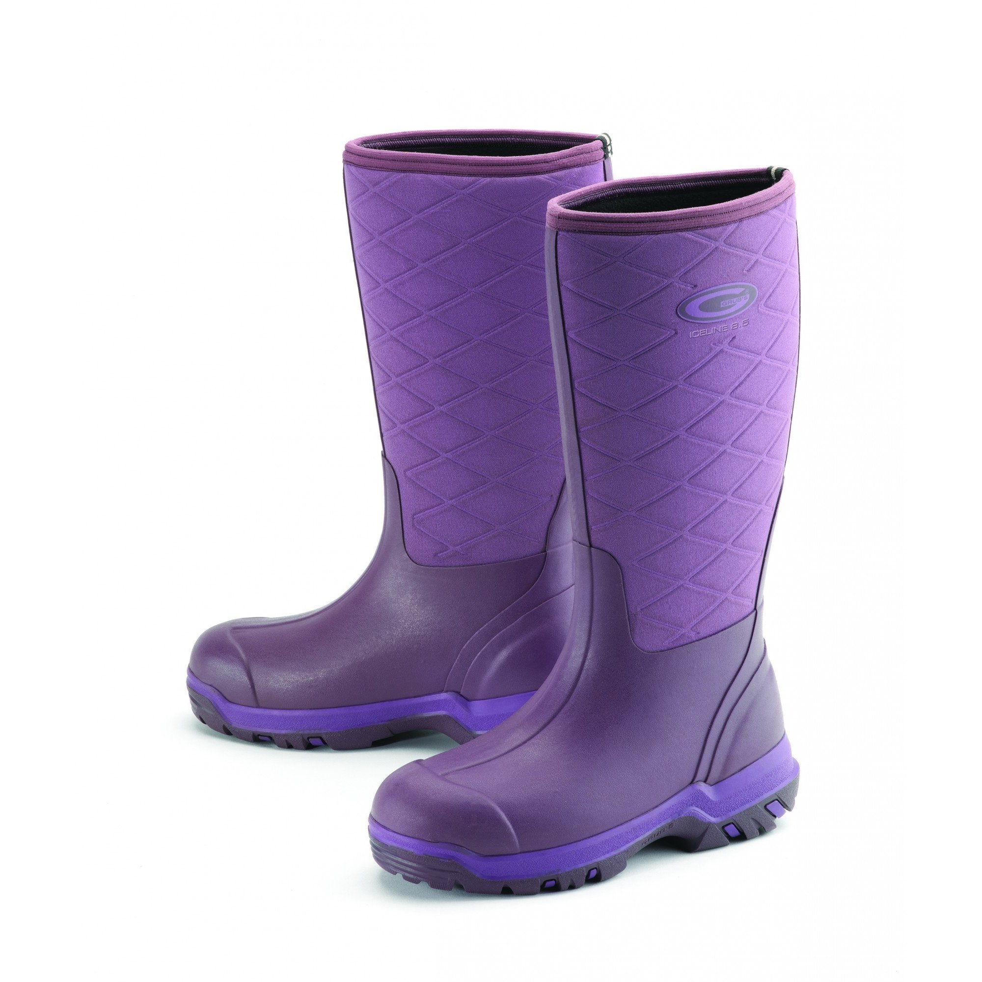 Grubs Womens/Ladies Iceline Boots (7 US) (Heather) by Grubs Boots