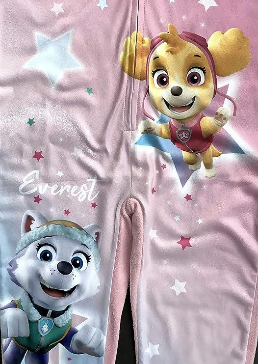 Details about  /Paw Patrol Kinder Jumpsuit Overall Onesie Pyjama mit Kapuze Gr 98 104 110 116