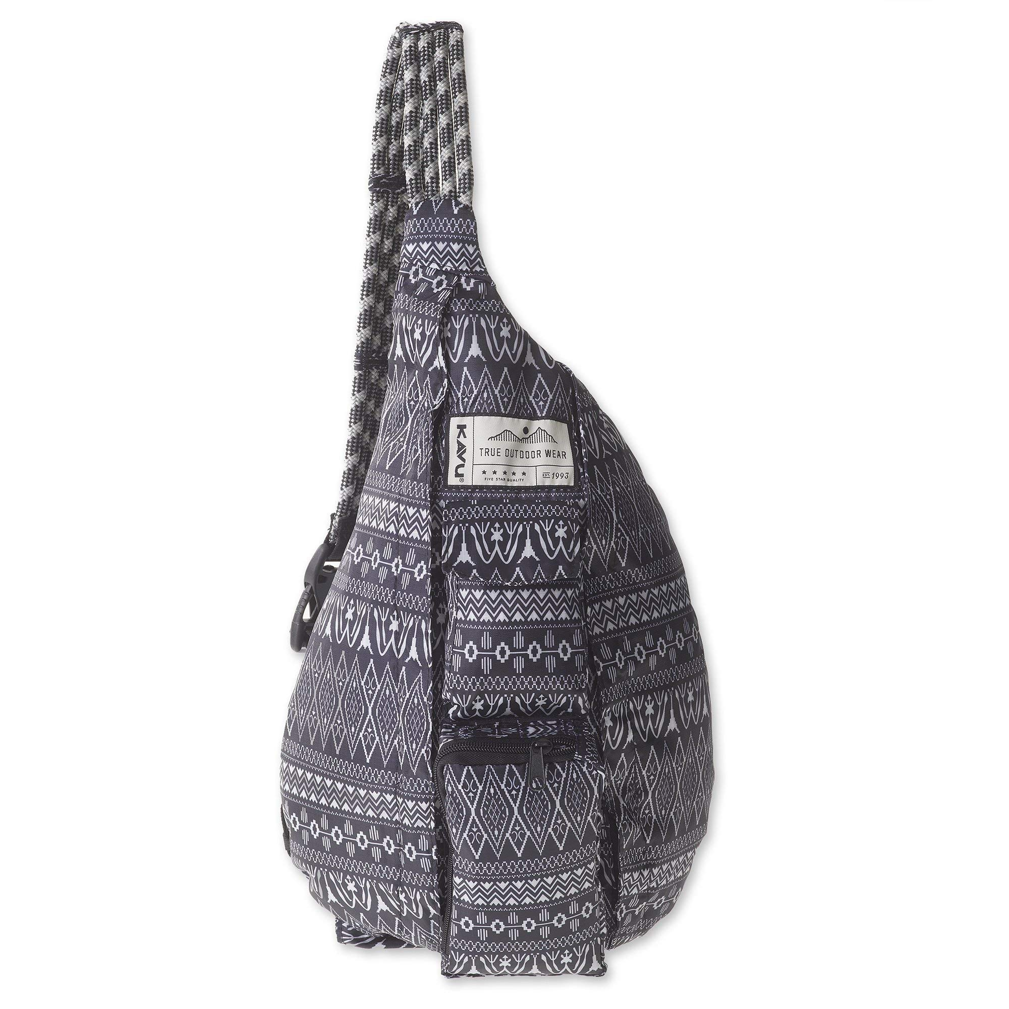 KAVU Rope Pack Lightweight Compact Crossbody Sling Bag - Knitty Gritty