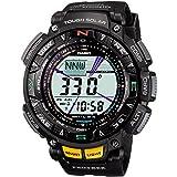 Casio Watch Protrek Triple Sensor Tough Solar 2-Tier LCD Model Prg-240-1 Men's Watch