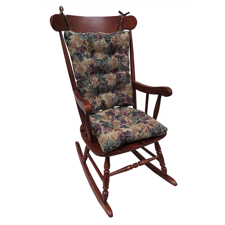 Non-Slip Cushions Rocking Chair Cushion Gripper Twillo Jumbo in Marine
