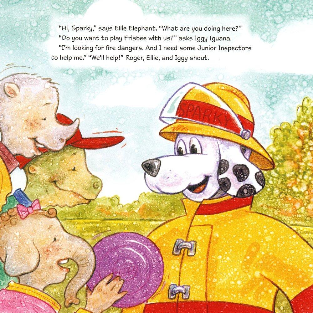 Sparky The Fire Dog 9781943154869 Amazon Books