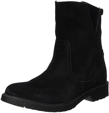 Buffalo London Damen 8036 Suede Kurzschaft Stiefel, Schwarz (Black 01), 36  EU 414b60646f