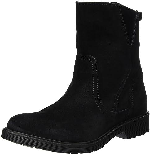 Buffalo Damen 8036 Suede Kurzschaft Stiefel