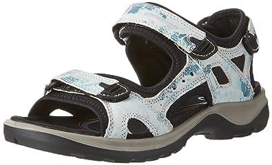 69651eba3060c8 ECCO Shoes Women s Offroad Athletic Sandals Blue  Amazon.ca  Shoes ...