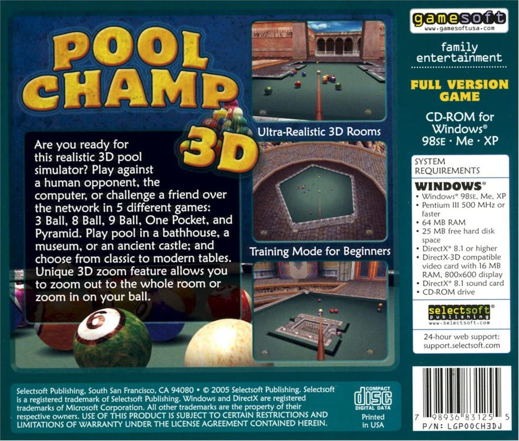 POOL CHAMP 3D: Amazon.es: Videojuegos