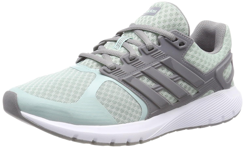 Adidas Duramo 8 W, Zapatos para Correr Mujer 36 2/3 EU Verde (Ash Green S18/Grey Three F17/Grey Three F17)