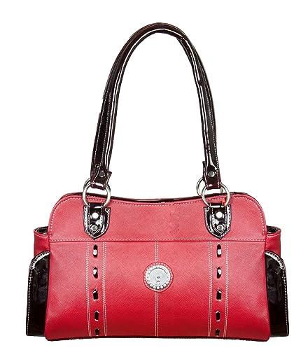 45cde00813 Louise Belgium Designer Handbag for Women Shoulder Bag - Red  Amazon ...