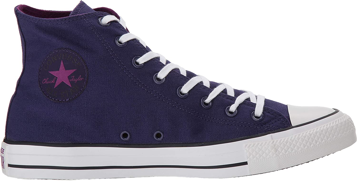 Converse Ctas Core Hi, Baskets mode mixte adulte Icône Orchidée Violet