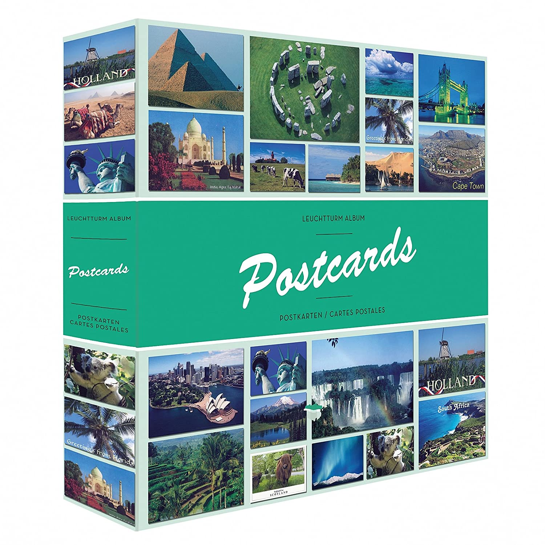 Album POSTCARDS pour 600 cartes postales, avec 50 feuilles reliées Leuchtturm