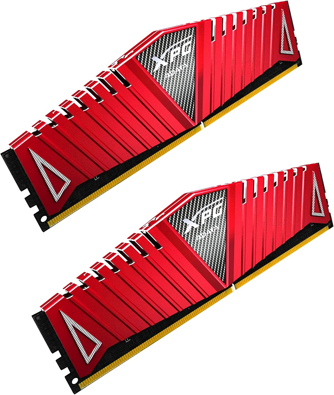 XPG Z1 DDR4 3000MHz (PC4 24000) 16GB (2x8GB) Memory Modules Red (AX4U300038G16-DRZ)