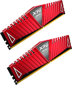 XPG Z1 DDR4 3000MHz (PC4 24000) 16GB (2x8GB) Memory Modules Red (AX4U300038G16-DRZ)