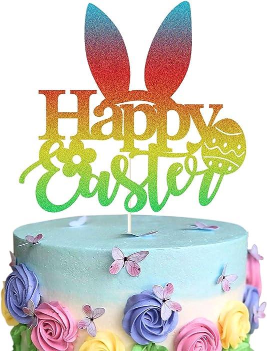 The Best Glitter Easter Eggs Decor