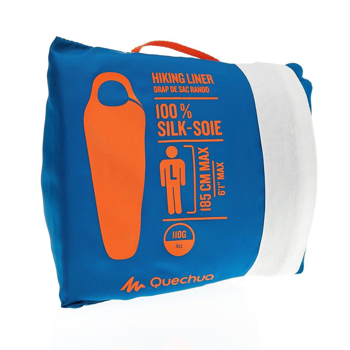 Anokay seda saco de dormir de seda 100% Natural, saco de dormir, Interior, saco de dormir de verano de auténtica seda, azul: Amazon.es: Deportes y aire ...