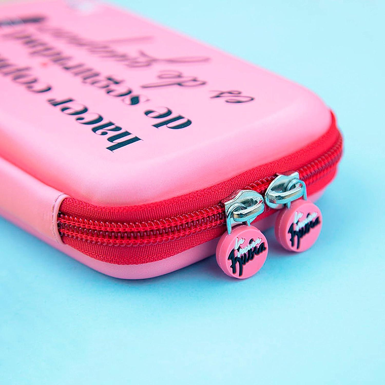 La Vecina Rubia Funda Rígida de Disco Duro de 2.5 Pulgadas - Diseño Hacer Copias de Seguridad es de Guapas de Color Rosa