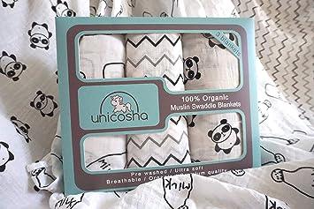 Amazon.com: Mantas – Juego de 2 – Tonos neutros para niños y ...