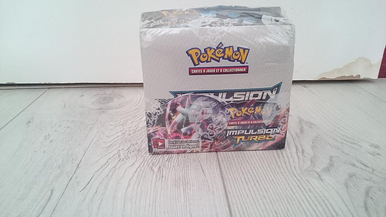 Pokémon - Caja de 36 sobres de cartas de expansión de Pokémon XY-TURBO Impulso (texto en francés): Amazon.es: Juguetes y juegos