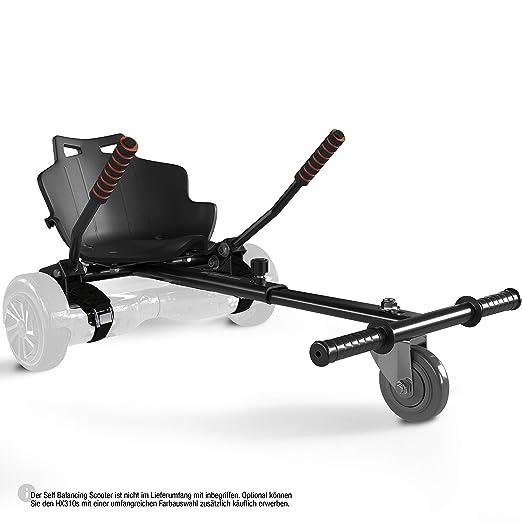 Bluewheel Sitzscooter HK200 Kart Sitz Erweiterung für 6, 5-10 Zoll Self Balance Scooter, Hover, E-Kart, Kart,Elektro Go-Kart,