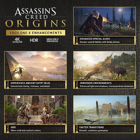 Ubisoft Assassins Creed Origins - Xbox One Standard Edition ...
