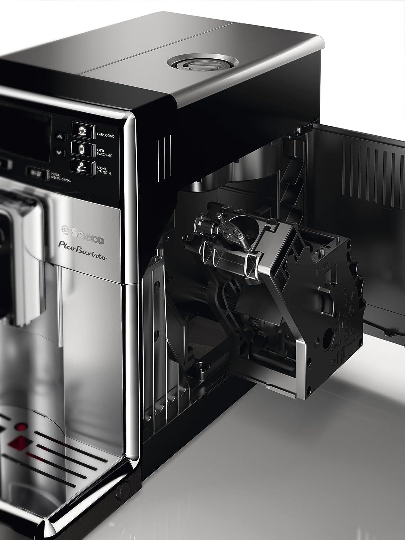 Saeco HD8927/37 Philips PicoBaristo Super Automatic Espresso Machine, Countertop, Piano Black