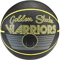 Spalding 1700068 Rubber Basket Ball, Size 7 (Black/Yellow)