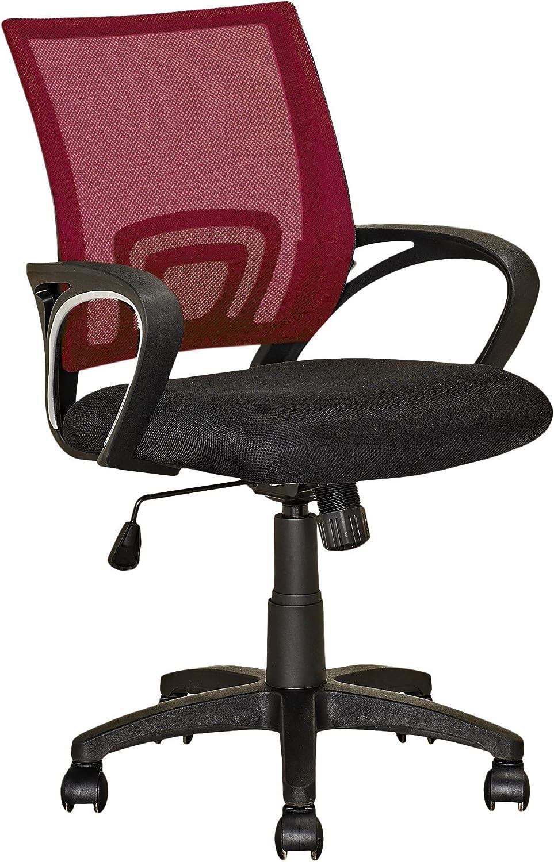 CorLiving Workspace Office Chair, Maroon