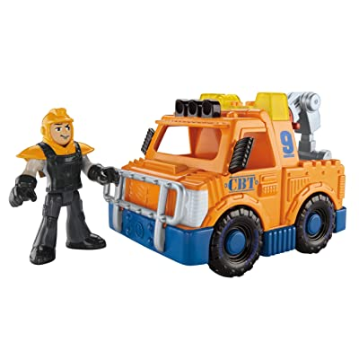 Fisher-Price Imaginext City Tow Truck: Toys & Games