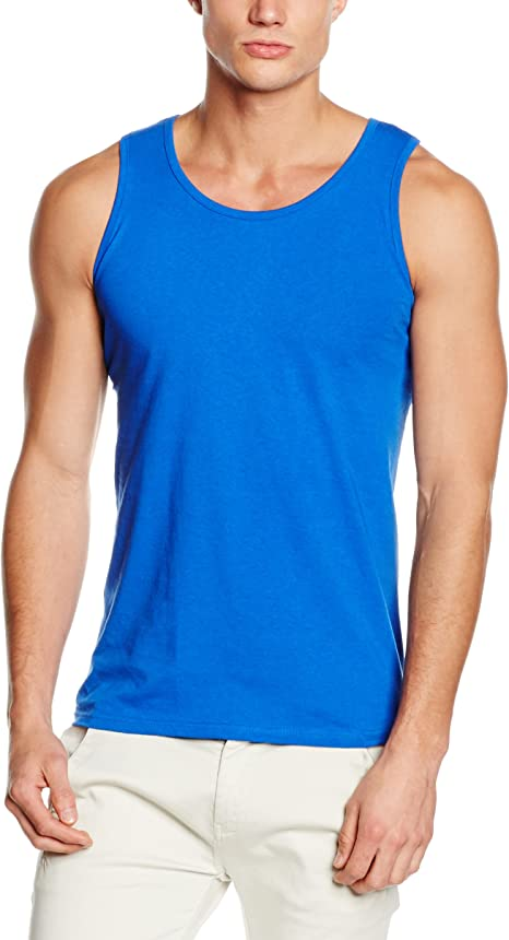 Fruit of the Loom Single Vest Camiseta de Tirantes para Hombre