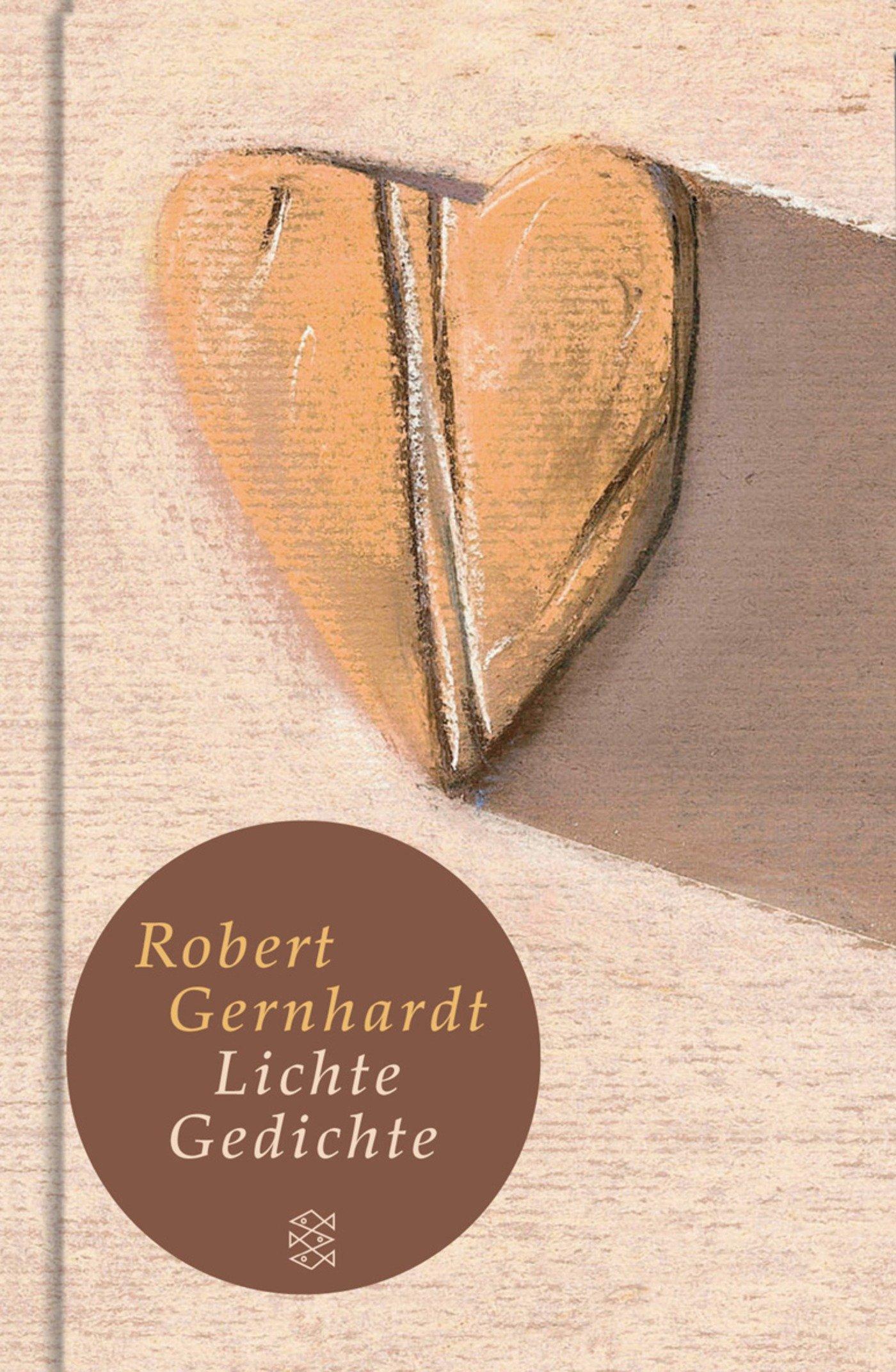 Lichte Gedichte Robert Gernhardt 9783596510542 Amazoncom