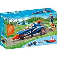 PLAYMOBIL Sports & Action Bólido con Propulsor, a
