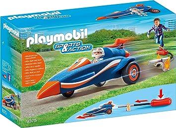 Pilote Pilote Playmobil Fusée9375 Playmobil Et Et Voiture Voiture Nym80wnOvP