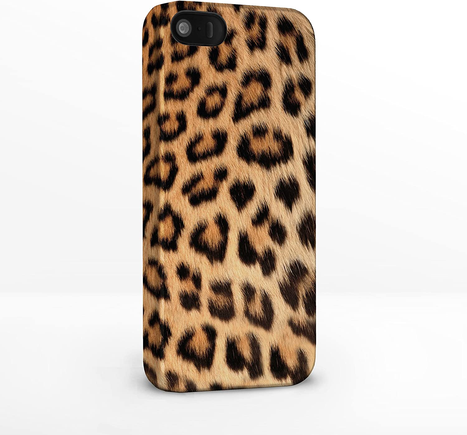 Ladies Leopard Print Purse with built-in phone charger