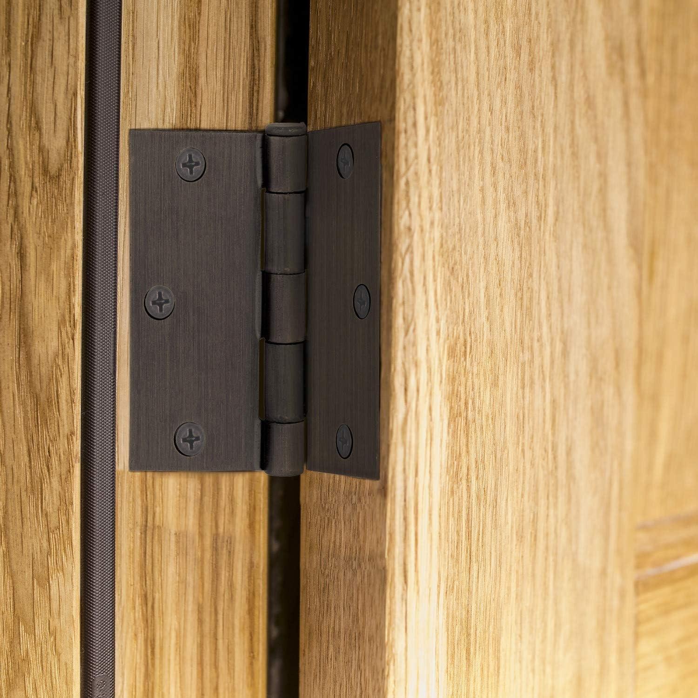 Gate House 4in Door Hinge 1//4 Radius Stain Brass Spectrum Brands Inc.