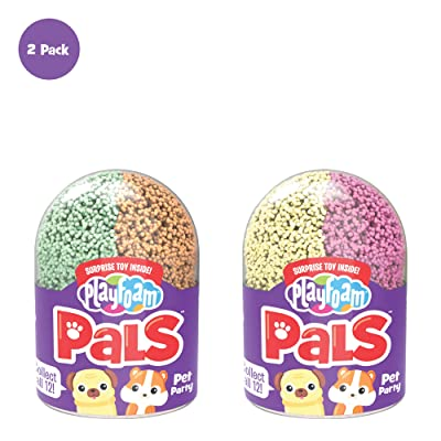 Educational Insights Playfoam Pals Pet Party 2-Pack   Non-Toxic, Never Dries Out   Sensory, Shaping Fun, Arts & Crafts For Kids   Surprise Collectible Toy   Perfect for Ages 5+: Toys & Games