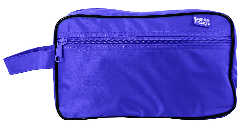 Ensign Peak Toiletry Travel / Shaving Bag Black