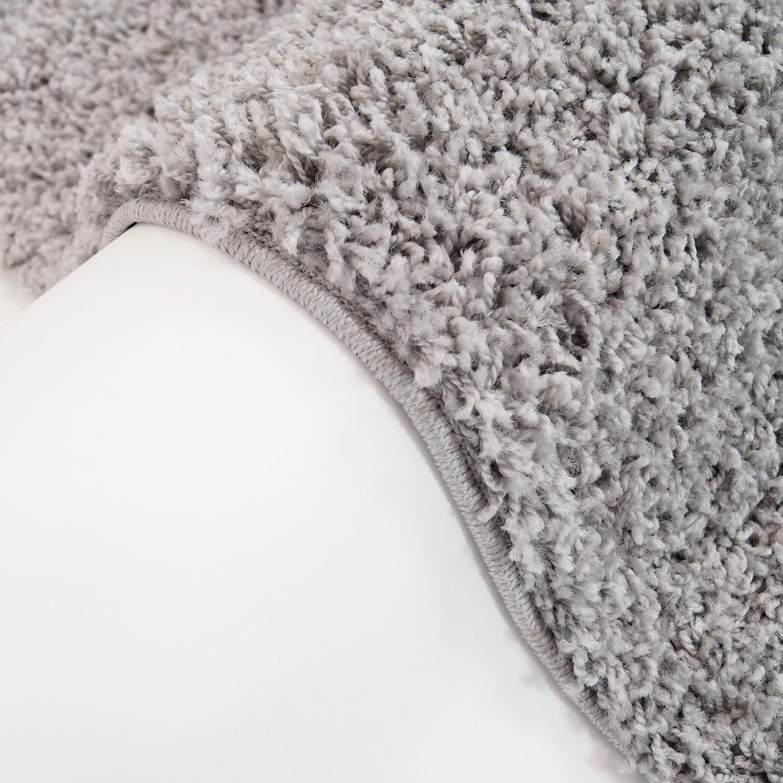Carpet city Teppich Shaggy Hochflor Langflor Flokati Einfarbig Uni aus aus aus Polypropylen in Dunkelgrau für Wohn-Schlafzimmer, Größe  300x400 cm B01HF6VBFO Teppiche 0f67ab