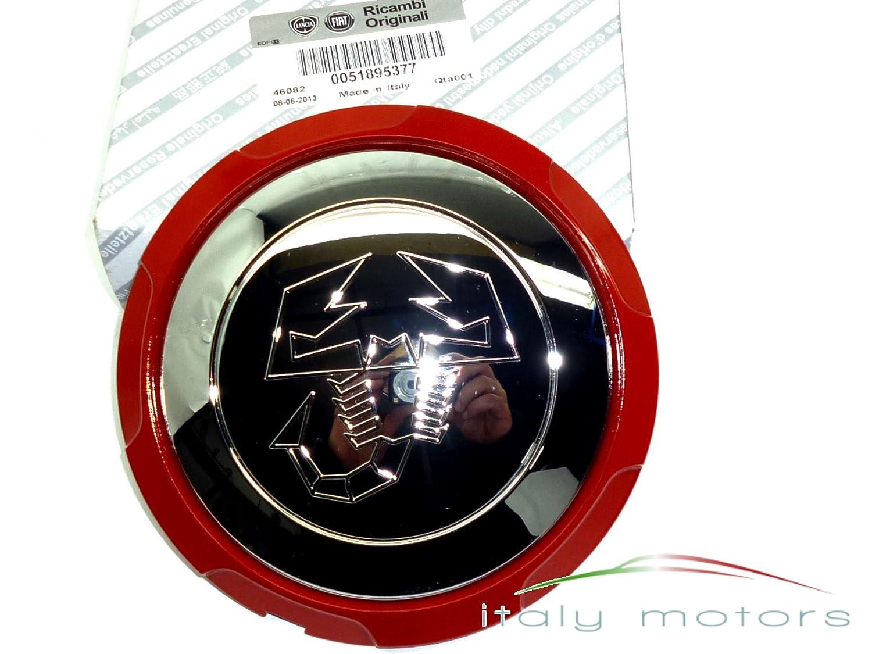/51895377 Original Fiat Punto Evo Abarth Llanta Tapa Cromo/