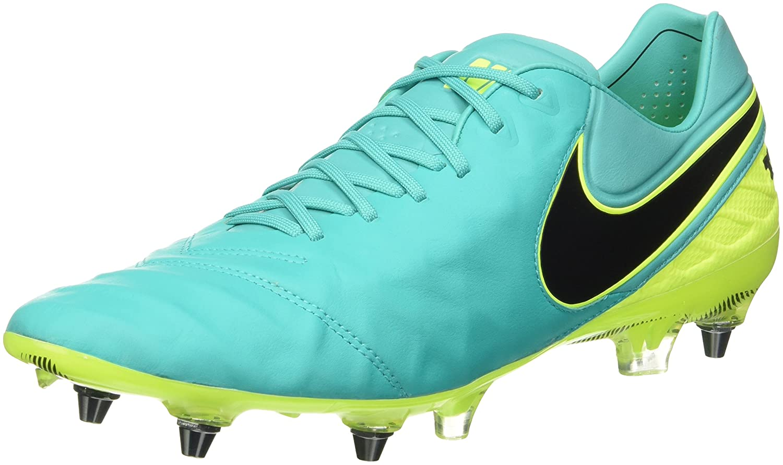 026a9ccc6 Amazon.com | NIKE Tiempo Legend VI SG-Pro Mens Soccer-Shoes 819680-307_8 -  Clear Jade/Black-Volt | Soccer