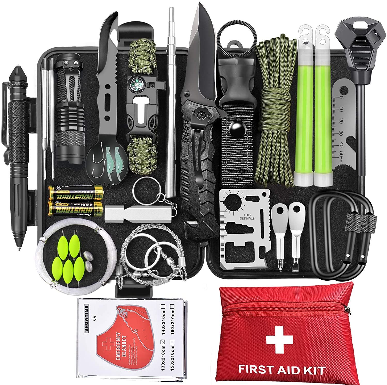 SCRIBY Survival Kit 73 in 1