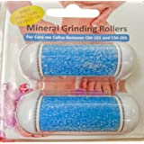 Coarse Replacement Rollers for Care me Callus Removers -Fit Battery-Operated CM101 & Rechargeable CM201- 2 Coarse Refill Rollers Suitable for All Skin Types