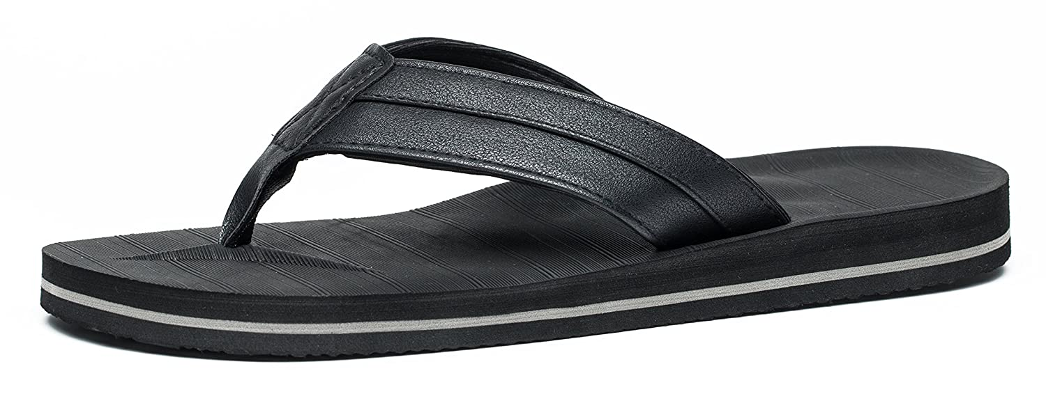 b8c12e988060 Amazon.com  Anlarach Men s Flip Flops Thong Sandals Extra Large Size with Arch  Support Light Weight Beach Slippers  Shoes